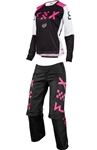Fox Racing 2018 MTB Womens Switch Combo Jersey Pant - Black/Pink
