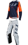 Fox Racing 2018 MTB Womens Switch Combo Jersey Pant - Grey/Orange