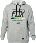 Fox Racing 2018 PC Draftr Pullover Fleece - Heather Grey