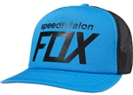 Fox Racing 2018 Paid Snapback Hat - Acid Blue