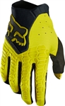 Fox Racing 2017 Pawtector Gloves - Dark Yellow