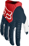 Fox Racing 2017 Pawtector Gloves - Navy/Red
