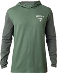 Fox Racing 2018 Tranzition Long Sleeve Knit - Dark Fatigue