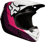 Fox Racing 2018 V1 Halyn Full Face Helmet - Black/Pink