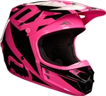Fox Racing 2018 V1 Race Full Face Helmet - Pink