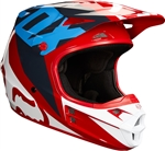 Fox Racing 2018 V1 Race Full Face Helmet - Red
