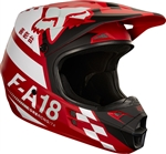 Fox Racing 2018 V1 Sayak Full Face Helmet - Red