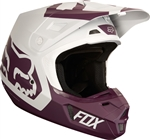 Fox Racing 2017 V2 Preme Full Face Helmet - Purple