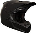 Fox Racing 2018 V3 Matte Carbon Full Face Helmet - Matte Black