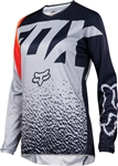 Fox Racing 2017 Womens 180 Jersey - Grey/Orange