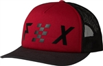 Fox Racing 2018 Womens Avowed Trucker Hat - Red