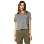 Fox Racing 2018 Womens Rosey Crop - Heather Graphite