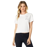 Fox Racing 2018 Womens Rosey Crop - White