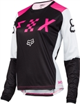 Fox Racing 2017 Womens Switch Jersey - Black/Pink
