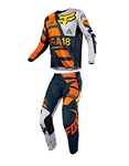 Fox Racing 2018 Youth 180 Sayak Combo Jersey Pant - Orange