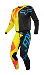 Fox Racing 2018 Youth 360 Preme Combo Jersey Pant - Black/Yellow