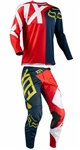 Fox Racing 2018 Youth 360 Preme Combo Jersey Pant - Navy/Red