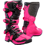 Fox 2017 Youth Comp 5 Boots - Black/Pink