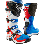 Fox 2017 Youth Comp 5 Special Edition Boots - Blue/Red