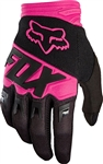 Fox Racing 2017 Youth Dirtpaw Race Gloves - Black/Pink
