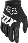 Fox Racing 2017 Youth Dirtpaw Race Gloves - Black