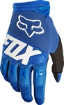 Fox Racing 2017 Youth Dirtpaw Race Gloves - Blue