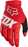 Fox Racing 2017 Youth Dirtpaw Race Gloves - Red