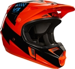 Fox Racing 2017 Youth V1 Mastar Full Face Helmet - Orange