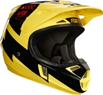 Fox Racing 2017 Youth V1 Mastar Full Face Helmet - Yellow