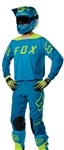 Fox Racing 2017 Flexair Moth LE Combo Jersey Pant - Teal