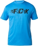 Fox Racing 2018 Flame Tee - Acid Blue