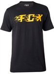 Fox Racing 2018 Flame Tee - Black