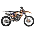 Factory Effex 2018 KTM EVO 15 Series Shroud Kits - Orange/White/Blue