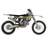 Factory Effex 2018 Rockstar EVO 15 Series Shroud Kits - Black/Yellow/White