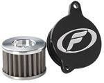Filtron Superflow Stainless Steel Oil Filter with Billet Cover