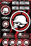 Factory Effex - Metal Mulisha Sticker Sheet