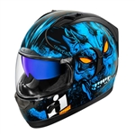 Icon 2018 Alliance GT The Horror Helmet - Blue