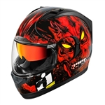 Icon 2018 Alliance GT The Horror Helmet - Red