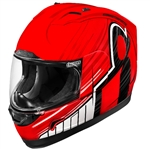 Icon 2018 Alliance Overlord Helmet - Red