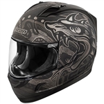 Icon 2018 Alliance Oro Boros Helmet - Black