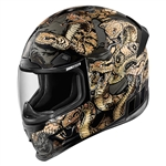 Icon 2018 Airframe Pro Cottonmouth Helmet - Gold