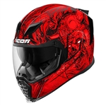 Icon 2018 Airflite Krom Helmet - Red