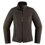 Icon 2018 Womens Fairlady Textile Jacket - Espresso