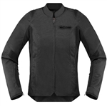 Icon 2018 Womens Overlord SB2 Jacket - Stealth