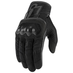 Icon 2018 Womens Overlord Gloves - Black