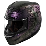 Icon 2018 Airmada Chantilly Opal Helmet - Purple