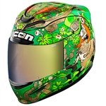 Icon 2018 Airmada Lepricon Helmet - Green