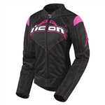 Icon 2018 Womens Contra Jacket - Black/Pink