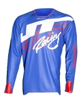 JT Racing 2018 Hyperlite Shuffle Jersey - Blue/Red/White