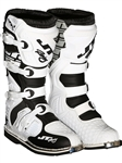 JT Racing 2018 Podium Boots - White/Black